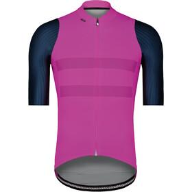 Etxeondo Garai Koszulka rowerowa z zamkiem błyskawicznym Mężczyźni, pink/petrol